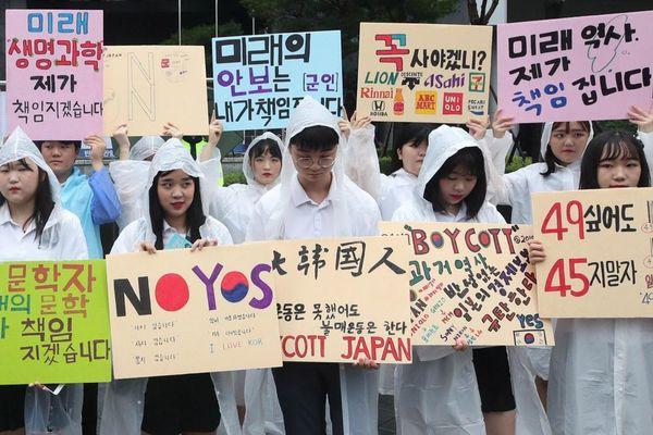 Khủng hoảng Nhật - Hàn lan rộng