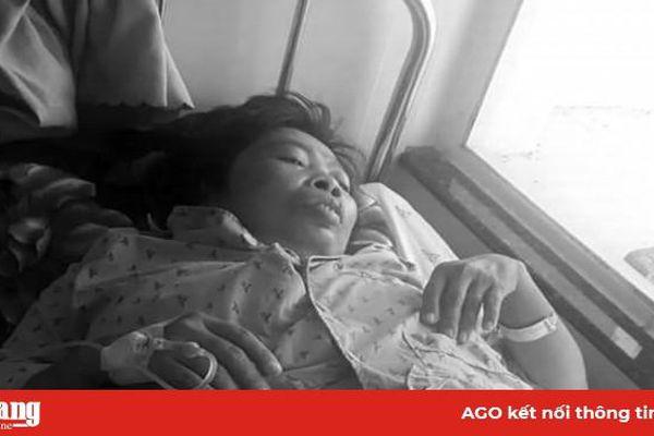 Người phụ nữ nghèo khó, bệnh nặng cần giúp đỡ