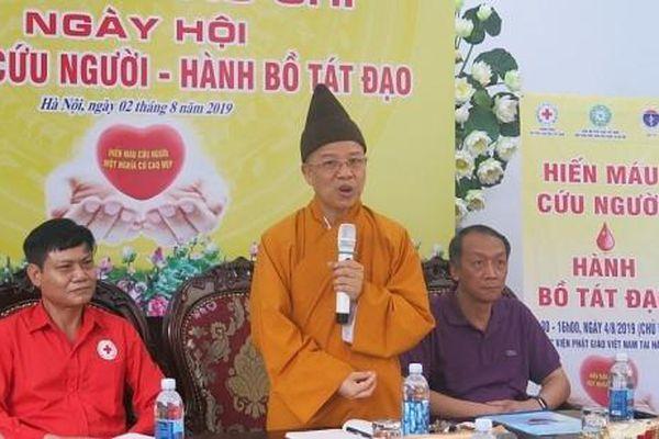 Gần 400 tăng ni sinh sẽ tham gia 'Hiến máu cứu người-Hành Bồ Tát đạo'