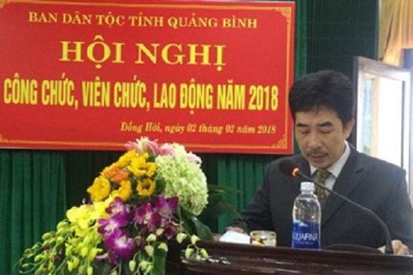Lập chứng từ khống, Phó Trưởng ban Dân tộc tỉnh Quảng Bình bị kỷ luật