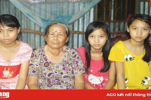 Hoàn cảnh khó khăn của 3 em học trò nghèo