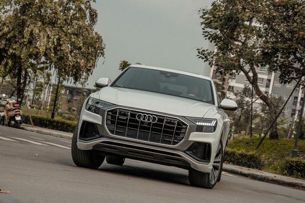 Audi Q8 đầu tiên tại VN ra biển trắng, giá hơn 6 tỷ đồng