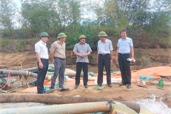 Miền Trung: Quyết liệt cứu hạn phục vụ nông nghiệp, nước sinh hoạt