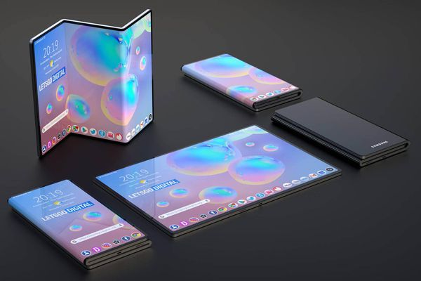 Galaxy Fold chưa thấy, Samsung đã có bản quyền smartphone màn gập làm ba