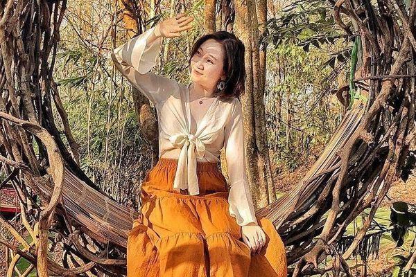 'Xích đu tổ kén' đẹp tựa Bali thu hút giới trẻ check-in ở Tây Nguyên