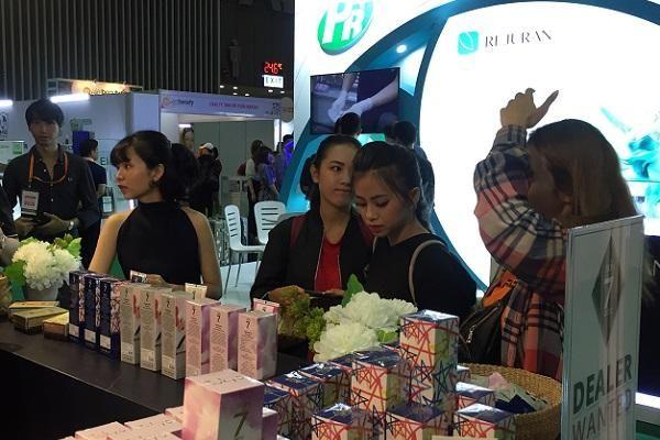 Triển lãm Mekong Beauty và Vietbeauty 2019