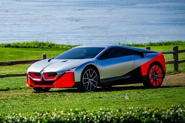 BMW Vision M Next ra mắt, tân binh thay thế BMW i8