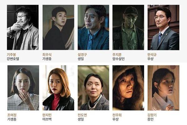 Công bố đề cử giải thưởng 'LHP Busan 2019': Dàn sao 'Ký sinh trùng' hay Han Ji Min - Joo Ji Hoon chiếm ưu thế?