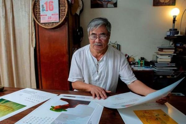 Nguyễn Duy, Nguyễn Bá Chung và Sam Hamill ra mắt 'Thơ Thiền Lê - Nguyễn'