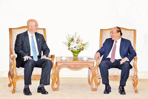Thủ tướng Nguyễn Xuân Phúc tiếp Bộ trưởng Ngoại giao Ni-ca-ra-goa; Thống đốc bang Nê-bra-xca (Hoa Kỳ)
