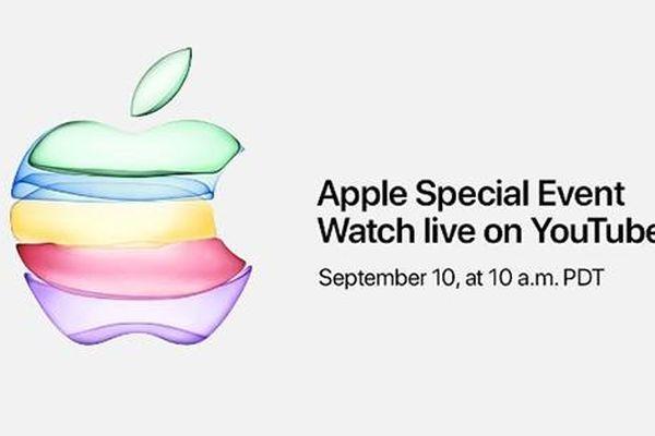 Sự kiện ra mắt iPhone 11 ngày 10/9 sẽ được phát trực tiếp trên Youtube