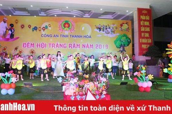Công an Thanh Hóa tổ chức vui tết trung thu 'Đêm hội trăng rằm'
