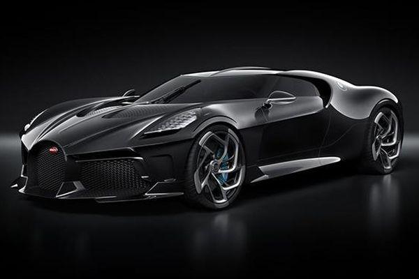 'Mãn nhãn' với siêu xe Bugatti La Voiture Noire có giá lên tới 18 triệu USD