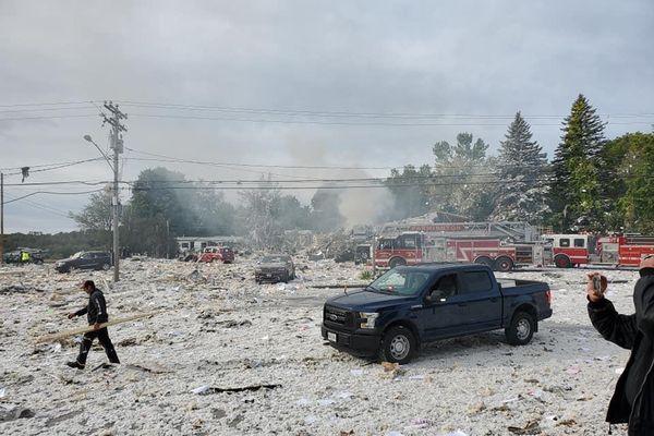 Nổ tòa nhà ở Mỹ, 7 người thương vong