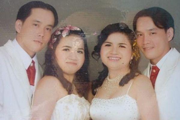 Hy hữu những đám cưới anh em sinh đôi với chị em song sinh ở Việt Nam
