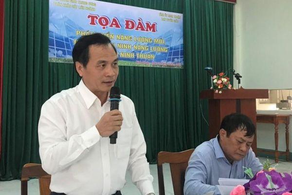 Tọa đàm về phát triển năng lượng tái tạo tại tỉnh Ninh Thuận