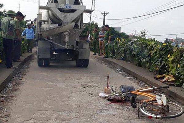 Bé 10 tuổi tử vong trên đường đến trường sau va chạm với xe bồn