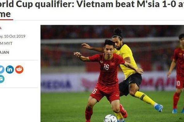 Báo chí Malaysia rất ấm ức với chiến thắng của Việt Nam
