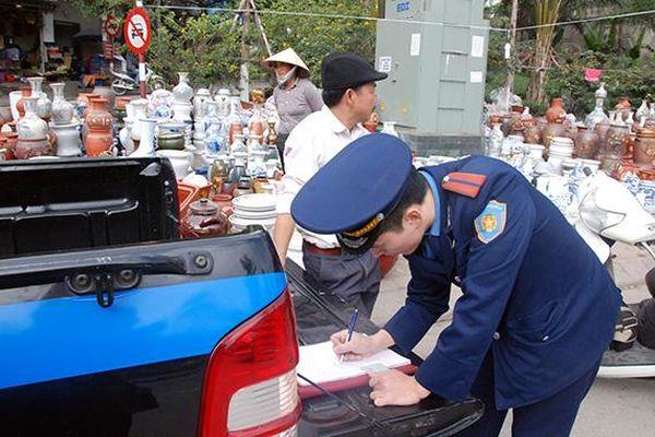 Hàng trăm vi phạm về trật tự đô thị bi xử lý trong 9 tháng đầu năm