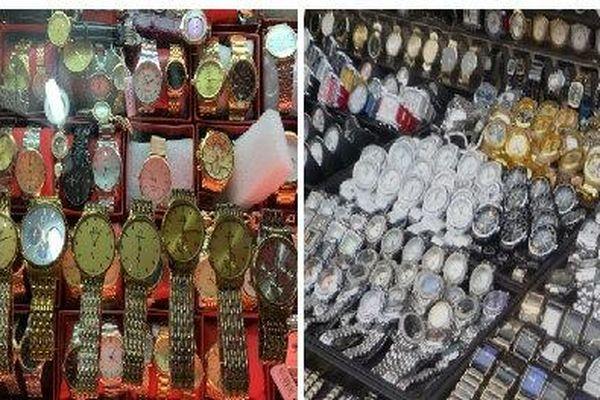 Kinh doanh, buôn bán đồng hồ giả nhãn hiệu Thụy Sỹ diễn biến phức tạp