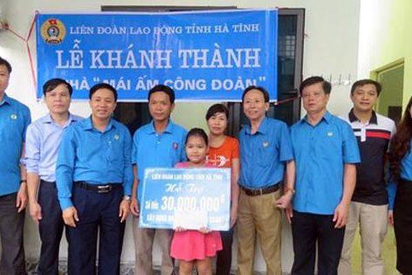 Hà Tĩnh: Hơn 3,3 tỉ đồng hỗ trợ nữ đoàn viên an cư