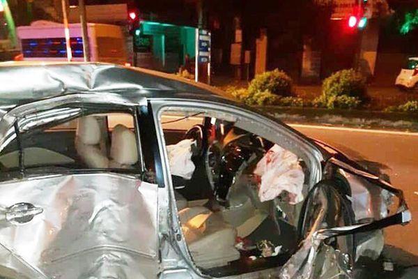 Nghệ An: Ôtô tông xe giường nằm, 3 người tử vong