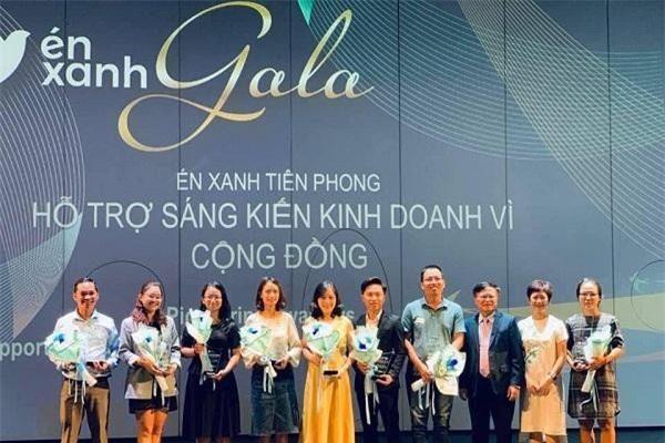 Đề án 844 nhận giải thưởng Én xanh tiên phong