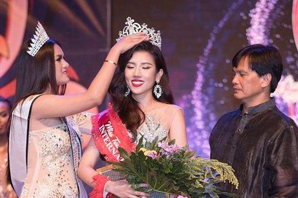 Dương Yến Nhung đăng quang Hoa hậu Du lịch Quốc tế 2019
