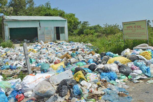 Lúng túng xử lý rác thải ở Quảng Nam