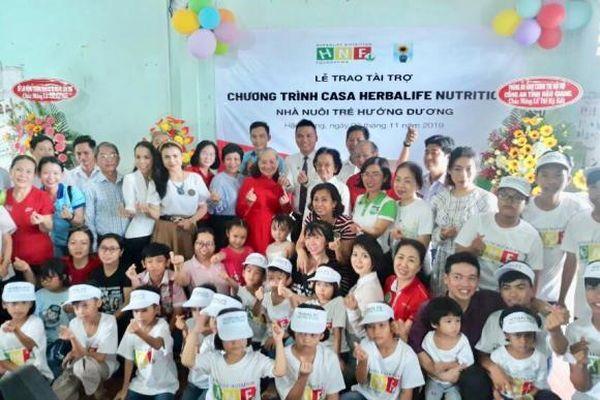 Quỹ Herbalife Nutrition Foundation hỗ trợ dinh dưỡng lâu dài cho trẻ em tại Nhà nuôi trẻ Hướng Dương