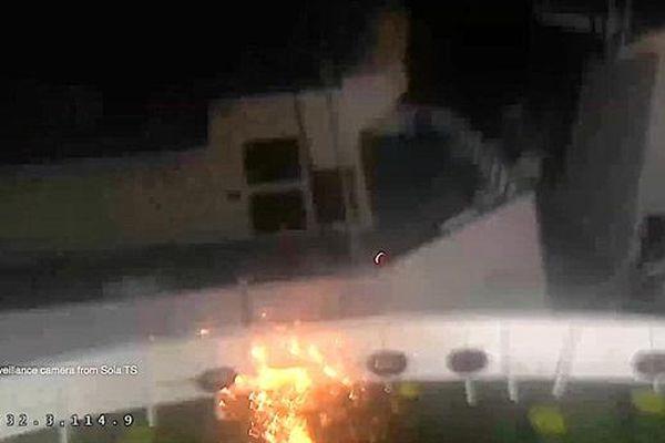 Na Uy công bố pha đâm tóe lửa khiến tàu Aegis chìm