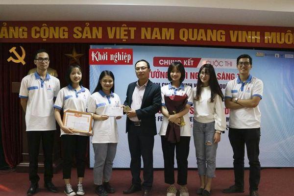8 đội đoạt giải 'Ý tưởng khởi nghiệp sáng tạo dành cho nữ sinh viên toàn quốc'