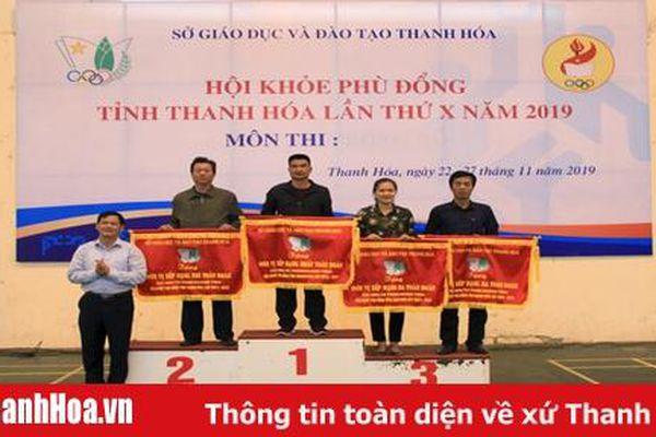 Trường THPT Đào Duy Từ giành vị trí nhất toàn đoàn khối THPT – Hội khỏe Phù Đổng tỉnh Thanh Hóa lần thứ X