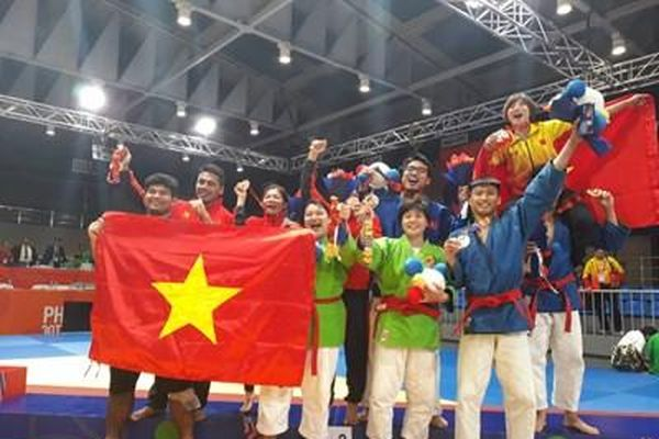 Môn võ Kurash giúp Đoàn thể thao Việt Nam giải cơn khát HCV