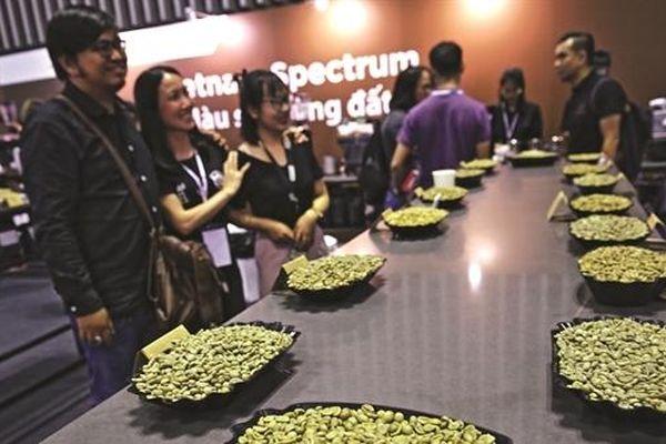Cà phê Việt rộng đường xuất ngoại