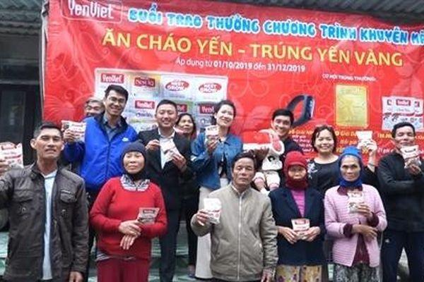 Khách mới trúng 5 chỉ vàng khi ăn Cháo Yến Yến Việt