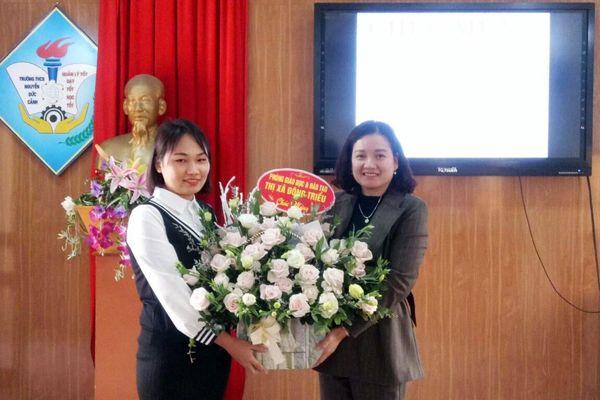 Gặp mặt thí sinh duy nhất của Quảng Ninh thi chung kết cuộc thi học và làm theo Bác