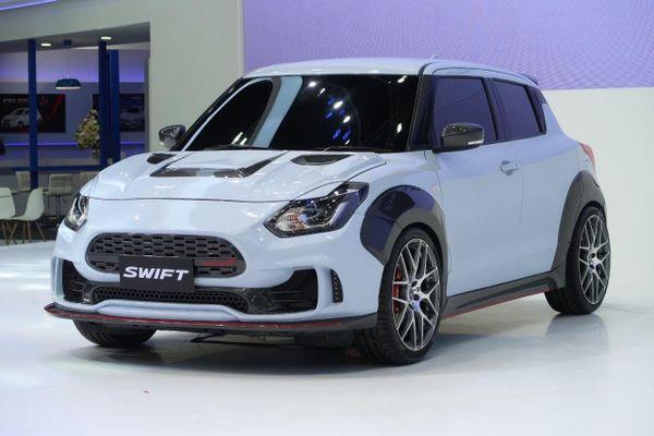 Suzuki Swift bản thể thao ra mắt, ngoại hình hầm hố hơn
