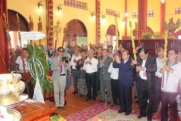 Tổ chức thành công lễ giỗ Thiên hộ Võ Duy Dương, Đốc binh Nguyễn Tấn Kiều