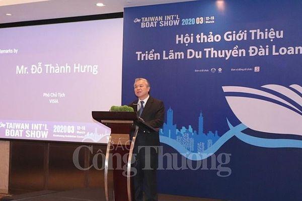 Hơn 500 gian hàng tham gia Triển lãm du thuyền quốc tế Đài Loan