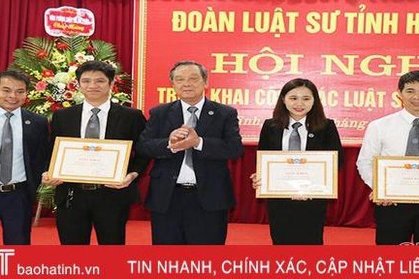 Nâng cao chất lượng và kỹ năng hành nghề cho đội ngũ luật sư Hà Tĩnh