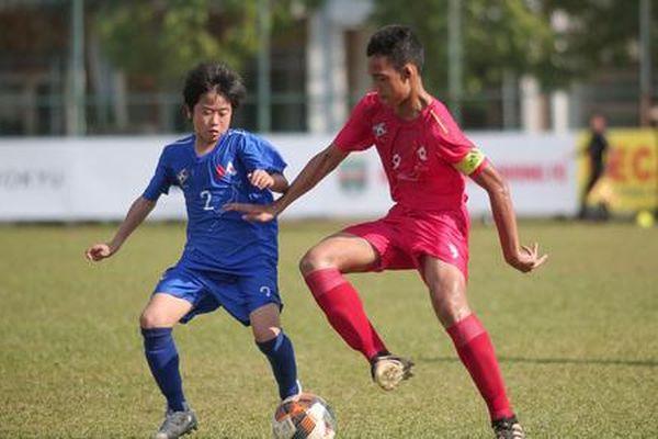 U13 Việt Nam đánh bại U13 Nhật Bản tại giải Quốc tế 2019