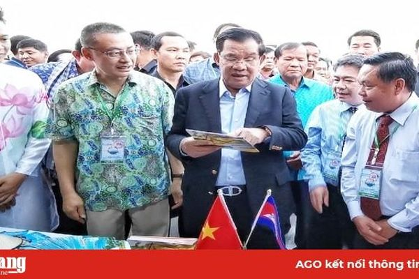 An Giang tham gia Lễ hội biển Campuchia 2019