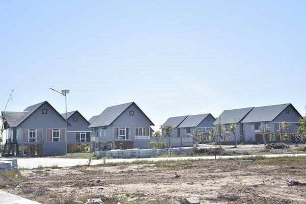 Dự án khu biệt thự vườn suối nước nóng Bình Châu: Tạm ngưng thi công công trình nghi lấn chiếm đất công