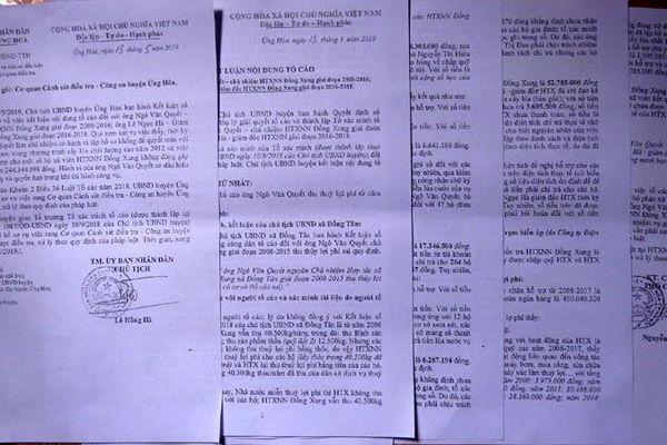 Vụ lập khống hồ sơ rút 244 triệu đồng xảy ra tại xã Đồng Tân: Công an huyện Ứng Hòa khởi tố hai đối tượng