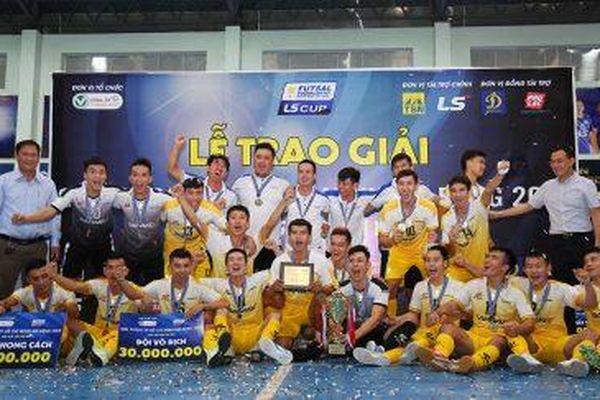 Sahako FC vô địch Giải futsal TP.HCM mở rộng 2019