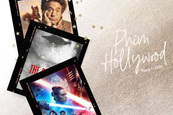Loạt bom tấn Hollywood đầu năm mới 2020: Star Wars 9 đấu phim ma The Grudge, Robert Downey Jr. tái xuất ngay mùng 1 Tết Canh Tý