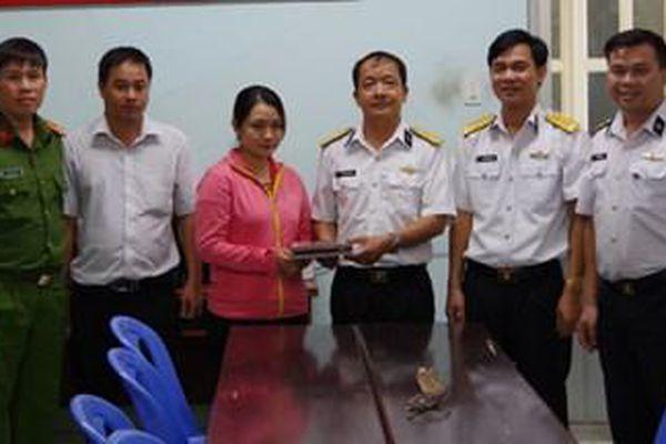 Việc làm nhân văn của Thiếu tá QNCN Trịnh Thanh Sơn