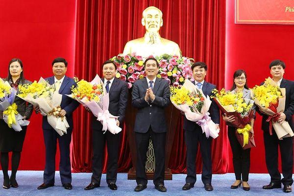 Tin nhân sự, lãnh đạo mới tại Phú Thọ, Quảng Ngãi, Hải Phòng