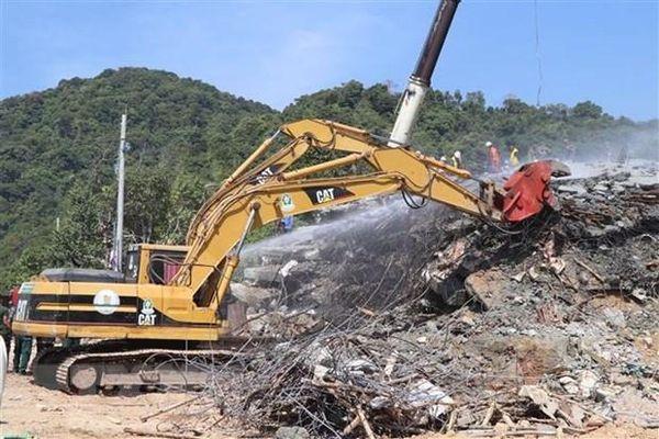 Lãnh đạo Chính phủ gửi Điện thăm hỏi về sự cố sập công trình xây dựng tại Campuchia